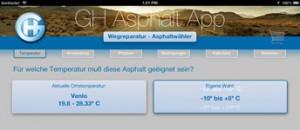 GH Asphalt app